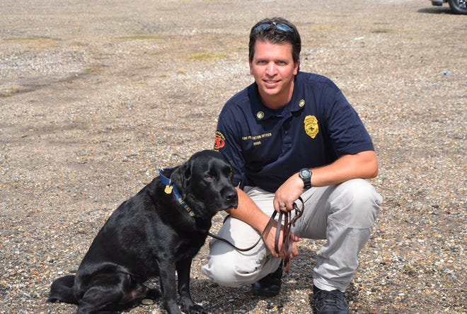 K-9 Jude and his handler