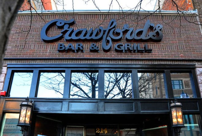 Crawford's Bar and Grill in downtown Sioux Falls.