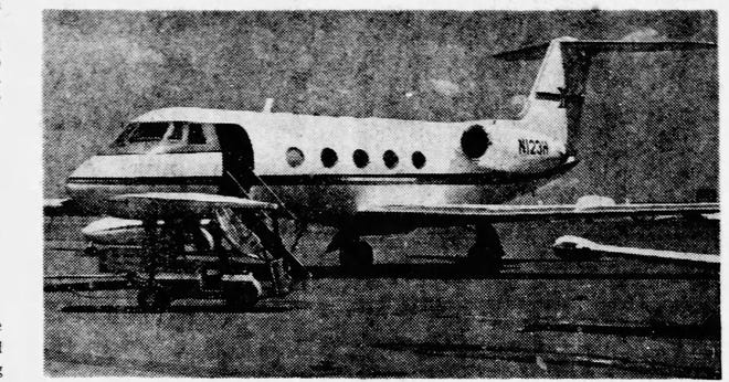 Aug. 30, 1972: Mystery Man's Mystery Plane: The plane returned Wednesday and again refueled at El Paso before flying on to Salt Lake City, Utah, and Santa Monica, Calif. Hughes was said to be aboard the plane Wednesday but the stop was far more routine than on Tuesday, with no problems encountered with Customs inspectors.