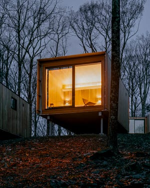 Piaule Catskill is a new landscape hotel debuting next month from the founders of the Piaule housewares brand.