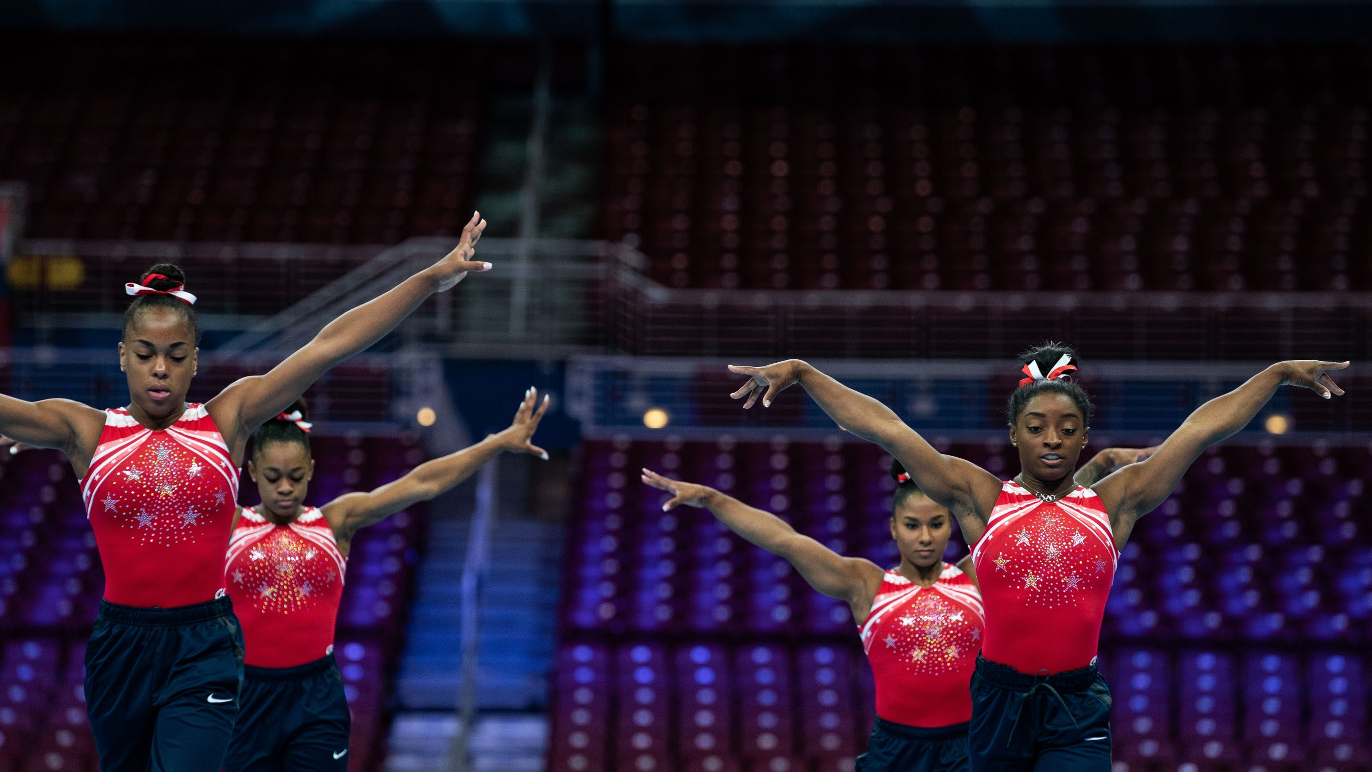 Simone Biles, Jordan Chiles and fellow WCC teammates are changing the face of gymnastics