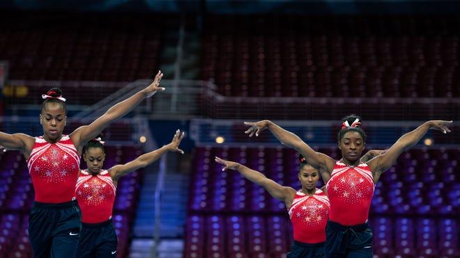 WATCH: Simone Biles and Jordan Chiles on increasing Black representation in elite gymnastics