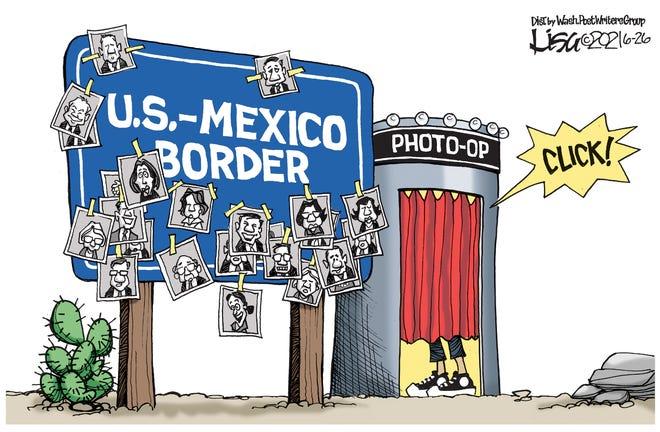 Border photo op
