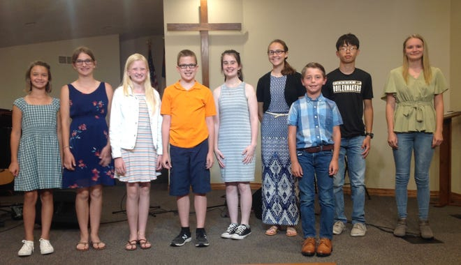 Fulton County 4-H members participated in the 4-H Performing Arts Night June 19.