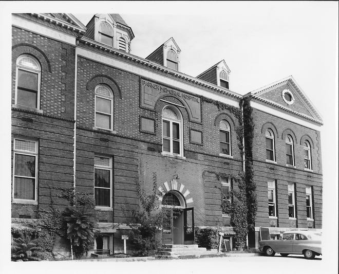 Parker Hospital was Columbia's first hospital and for years the only hospital.
