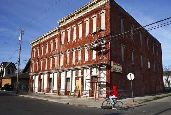 The Macon Hotel on the Near East Side was a place for Black performers and travelers to stay when they couldn't stay Downtown. It was in the Green Book made famous by the movie. It has been on Columbus Landmarks' most endangered list. Now the owner plans to redevelop it into residences.