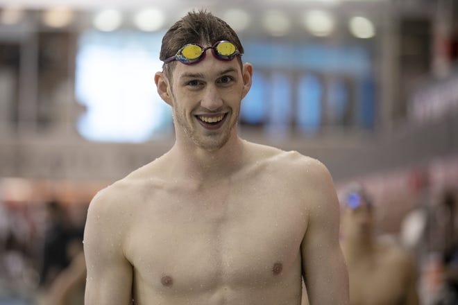 Hunter Armstrong will be the first Ohio State swimmer in 65 years to compete in the Olympics.