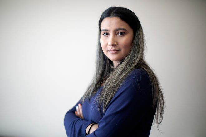Uma Acharya is the program director for the Center for New Americans, which caters to Bhutanese-Nepali refugees.