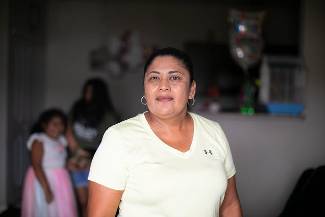 Miriam Vargas, who got out of sanctuary a few months ago, is living in an apartment with her family near Hilliard.
