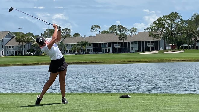 Kaitlyn Schroeder of Jacksonville advanced in stroke-play qualifying in the U.S. Junior Girls Championship in Chevy Chase, Md.