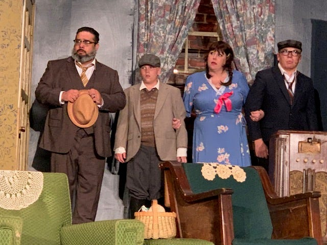 """Chickasha Community Theatre actors will present their upcoming production of """"Lost in Yonkers"""" June 25-27."""