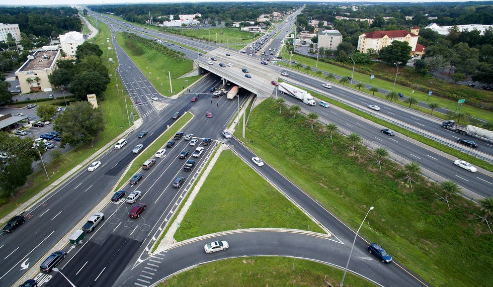 Traffic makes its way through the intersection of SR 200 and I-75 back in 2016. [Doug Engle/Ocala Star-Banner file]2016