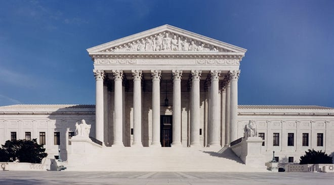 The U.S. Supreme Court building is pictured in Washington, D.C.