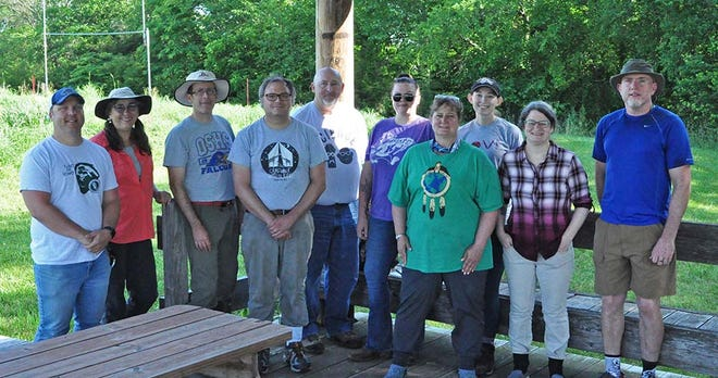Ten secondary science teachers are participating in the Ecosystems of Kansas Summer Institute at the Free State Prairie site at Lawrence Free State High School.