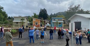 Cottage Village, a co-op created by SquareOne Villages and Cottage Grove Coalition,  has completed its final four houses.