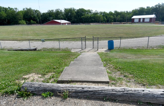 Carrollton will develop a new park here north of downtown. The Carrollton Exempted Village Board of Education donated the 9.8-acre site to the village.