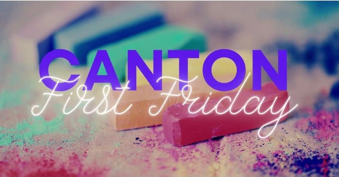 First Friday on July 2 in downtown Canton features chalk art, live music and art exhibits.
