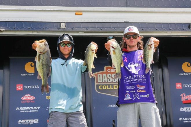 Tarleton State's Trevor Easter and Caden Cowan recently finished fourth place at Lay Lake, securing a spot in the College Bass National Championship.