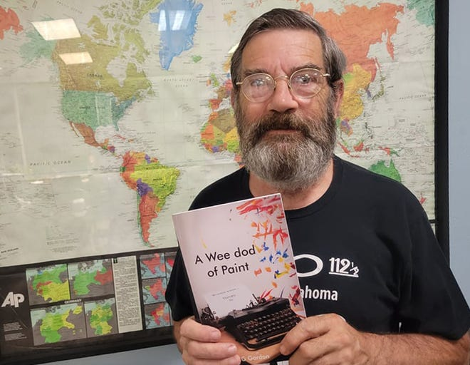 """Douglas G. Gordon recently published his book of art and poetry, titled """"A Wee dod of Paint."""""""