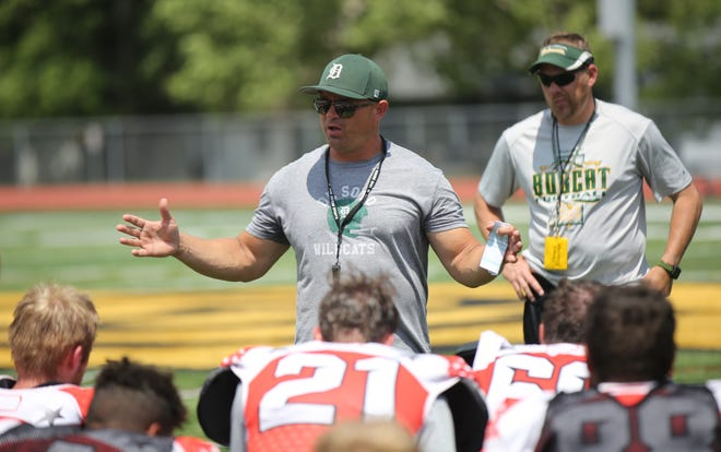 DeSoto head coach Brian King will lead the East squad into Saturday's Kansas Shrine Bowl in Hutchinson. King likes the makeup of his squad, particularly across the line of scrimmage.