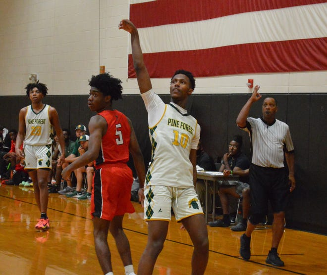 Isaiah Washington (10) and the Trojans were the premier squad at the Gray's Creek Summer Jam.