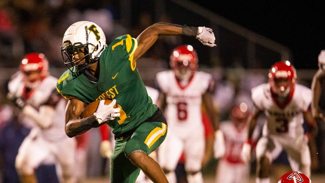 Ocala Forest athlete Jamarrien Burt committed to the Gators on Thursday.