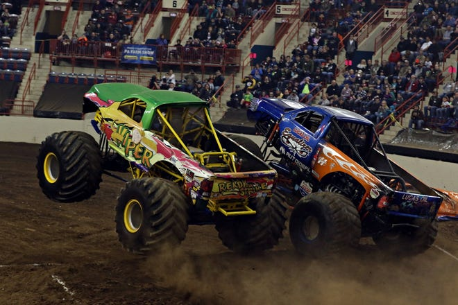 The Monster Truck Thunder show is scheduled to return to the San Bernardino County Fairgrounds in Victorville on July 16 and 17, 2021, after last year's show was canceled at the beginning of the COVID-19 pandemic.