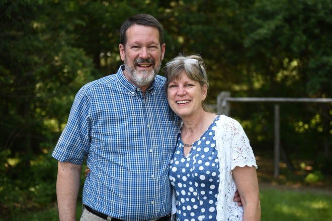 The Rev. Brad Johnson and Kathy Johnson