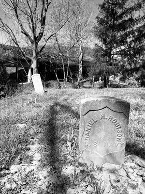 African American Civil War soldiers burial grounds at Wesleyan Cemetery in Northside.
