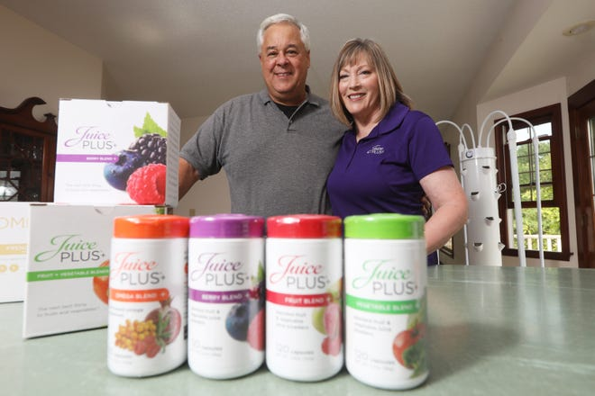 """""""We started in the spring of 2015 in an effort to get healthier,"""" Jeff Corder said in reference to Juice Plus+, """"and it led into a career for (his wife Debbie)."""""""