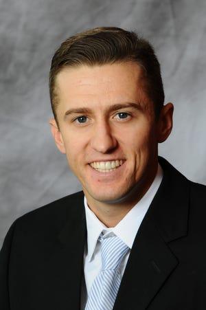 Jeremy Sudbury is Iowa State's new track coach