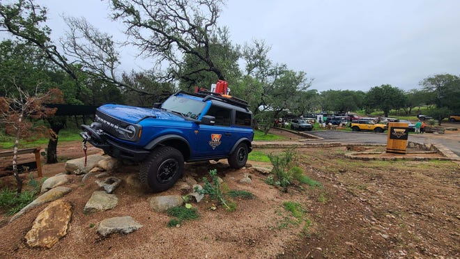 Welcome to Bronco Off-Roadeo in Texas. The main campus of the 360 acre property 54 miles northwest of Austin.
