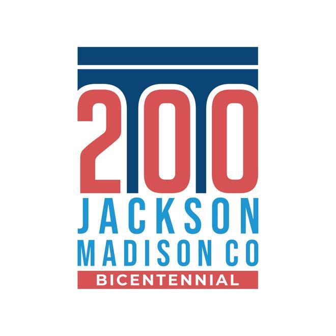 Jackson-Madison County Bicentennial logo