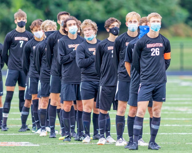 Many athletic clothing companies now make masks for use during exercise. A reusable mask made from breathable, synthetic fabric may best serve athletes.