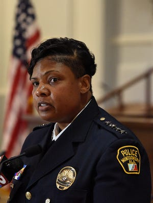 Interim Police Chief Ramona Harris told council members she endorses a moveaway from using officers to providesecurity.