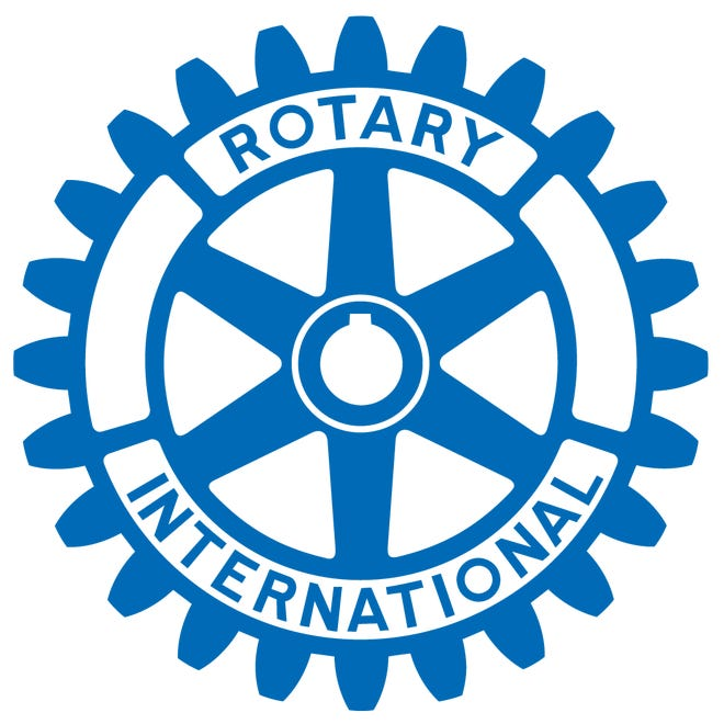 The symbol of Rotary International