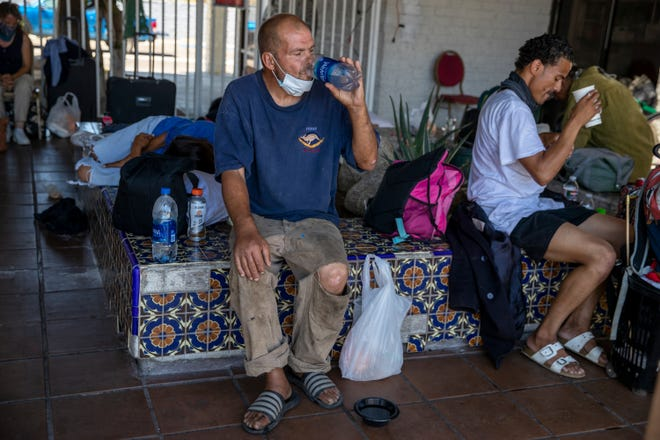 Well in the Desert operates a cooling center and provides drop-in services for people experiencing homelessness in Palm Springs, Calif., on June 25, 2021.