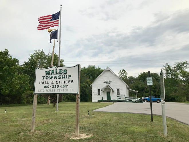 Wales Township Hall at 1372 Goodells Road on June 24, 2021.