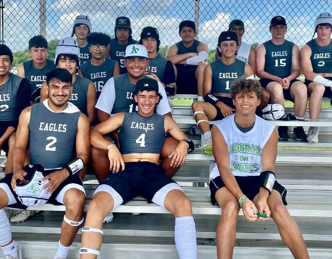 The Eldorado Eagles had a great showing at the Texas State 7on7 Tournament in College Station this weekend.