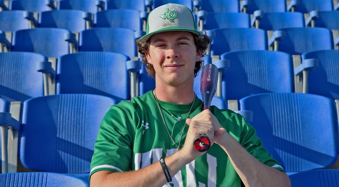 Kannon Brooks, All-West Texas Baseball MVP, poses for a photo at Foster Field on Thursday, June 24, 2021.