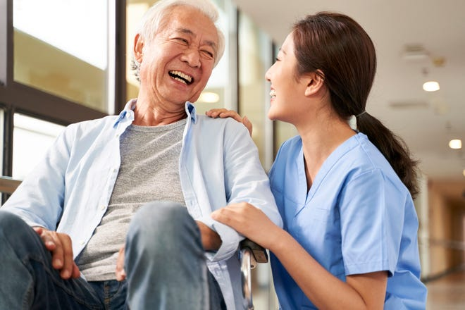 Having a registered nurse on staff who is trained to spotdeveloping illnesses can help nursing homes keep their residents out of the hospital.