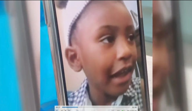 """Gianna Floyd, 7, said in court Friday via video that if she could say anything to George Floyd, her father, it would be: """"I miss you and I love you."""""""