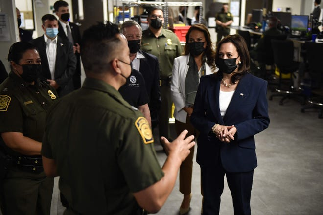 The Biden administration released a plan to address the root causes of migration, developed under the auspices of Vice President Kamala Harris.