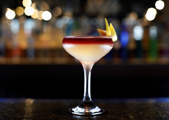 The Hopper drink at Lewis Center Kitchen and Bar on Polaris Parkway.