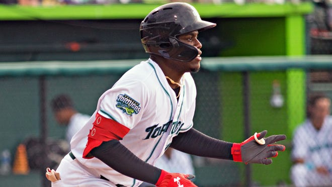 Michel Triana's first-inning, two-run homer was all the Tortugas needed to win Friday's nightcap in Clearwater.