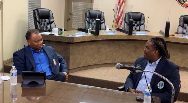 Donaldsonville Mayor Leroy Sullivan and Daryl Comery sit down for a conversation on community issues.