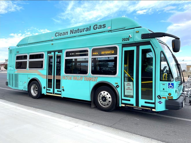 Victor Valley Transit Authority's new ElDorado EZ Rider buses are in service now on several of the agency's routes.