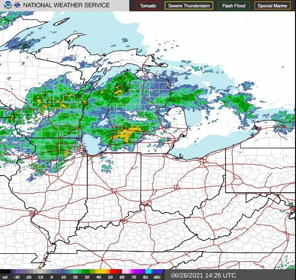 More rain is on the way to metro Detroit.