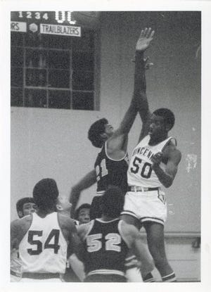 Bob McAdoo, shown in his playing days with Vincennes University, has been named to yet another hall of fame.