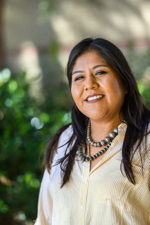 Diné student Rachel Ann Livingston plans to graduate in December with a bachelor's degree in fish, wildlife and conservation ecology with an emphasis in aquatic ecology and management.